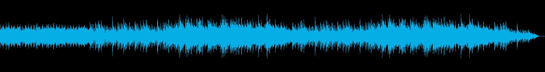 幻想的でキラキラしたクリスマスBGMの再生済みの波形