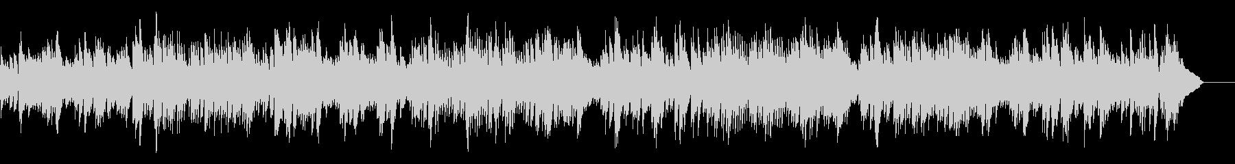 バッハ_インヴェンション第5番_ピアノの未再生の波形