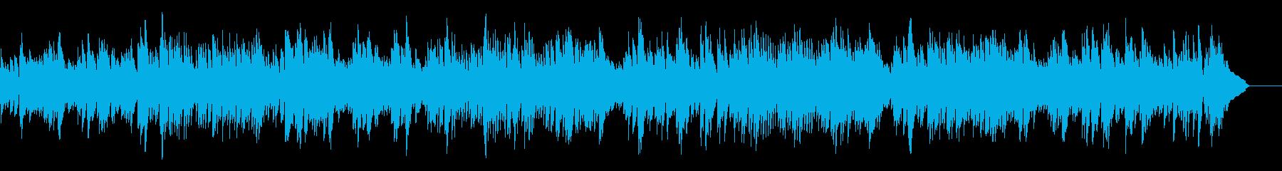 バッハ_インヴェンション第5番_ピアノの再生済みの波形