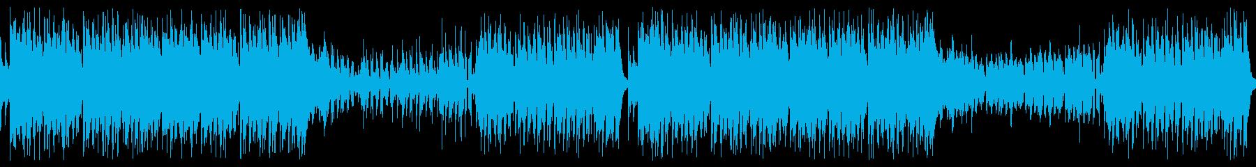 【ループ版】和風EDM・明るく軽快な…の再生済みの波形