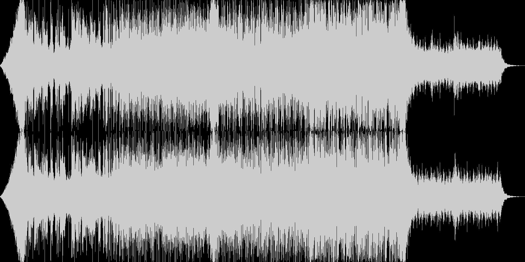 おしゃれクールカッコいいハウステクノBの未再生の波形