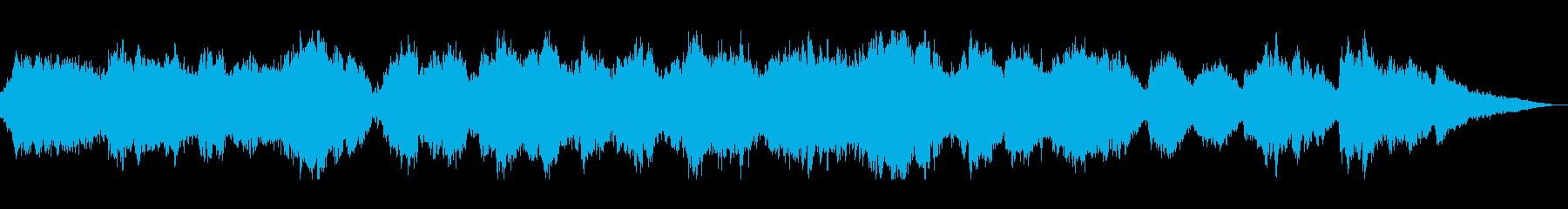しっとり切ないオーケストラバラードの再生済みの波形