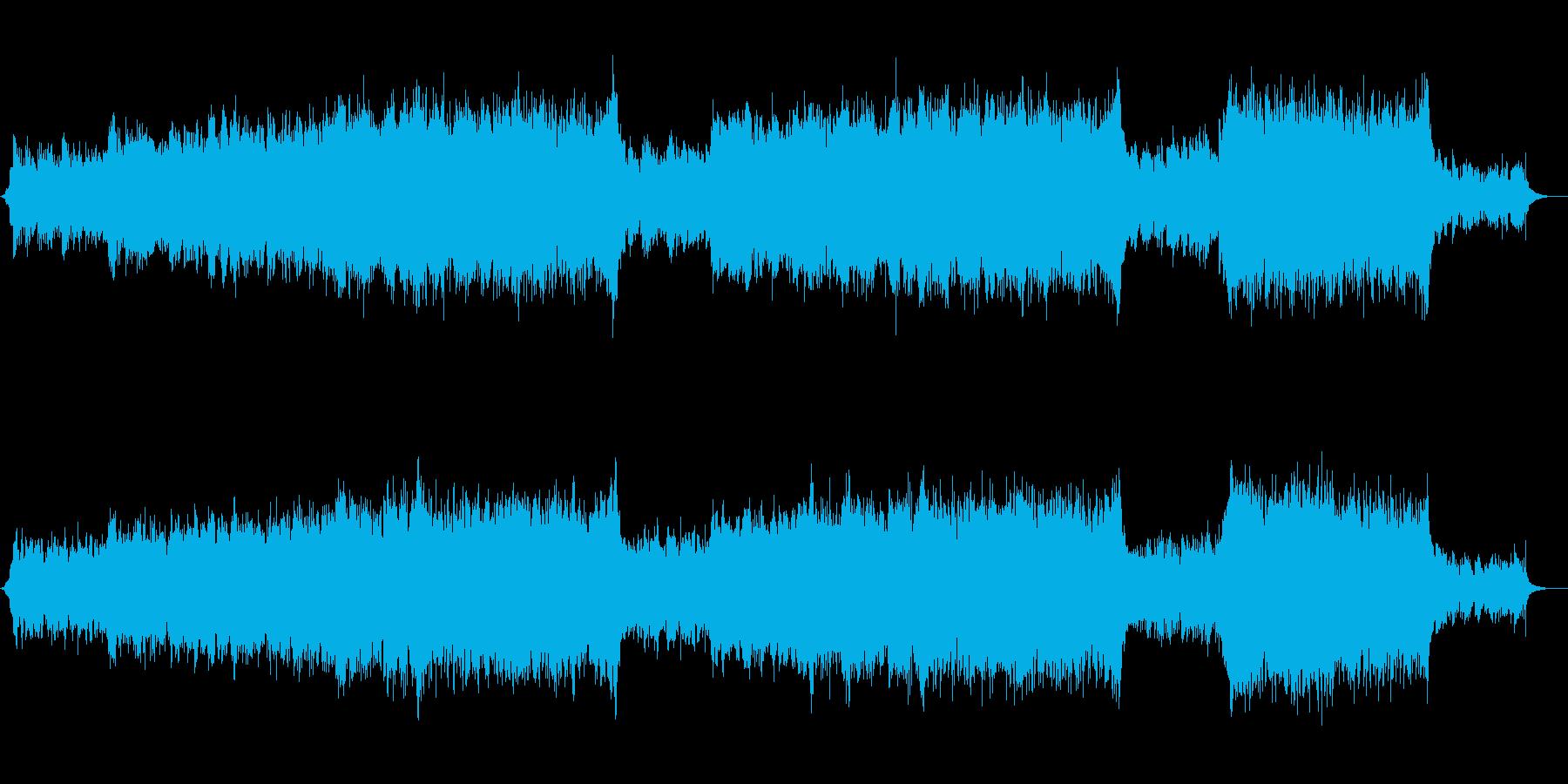 【生演奏】壮大で感動的な生バイオリン曲の再生済みの波形