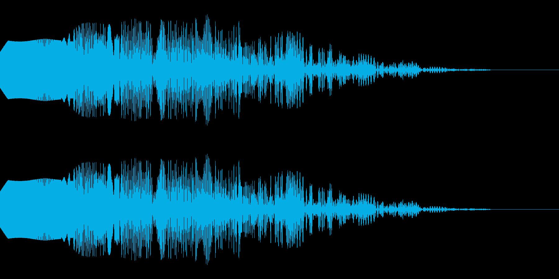 失敗して気分が落ち込むような音_01の再生済みの波形