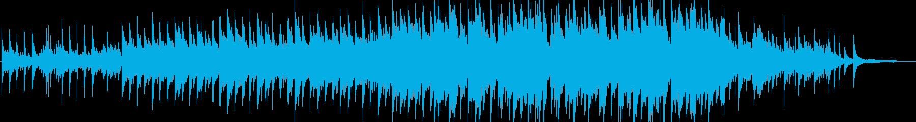 感動的・ピアノソロ・イベント・映像の再生済みの波形