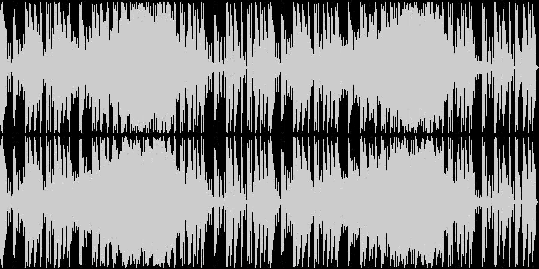【ミステリアス】ロング1、ミディアム2の未再生の波形
