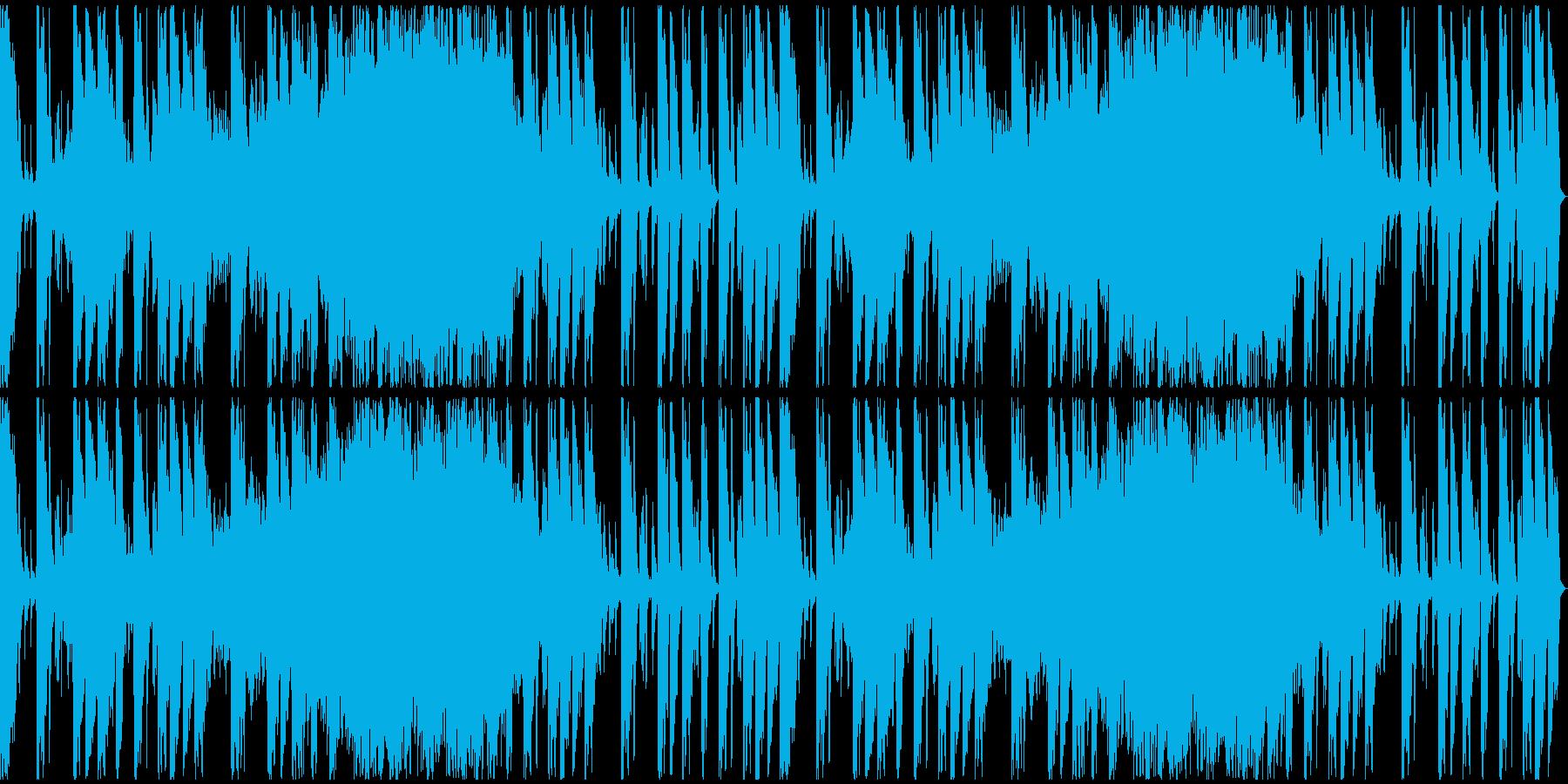 【ミステリアス】ロング1、ミディアム2の再生済みの波形