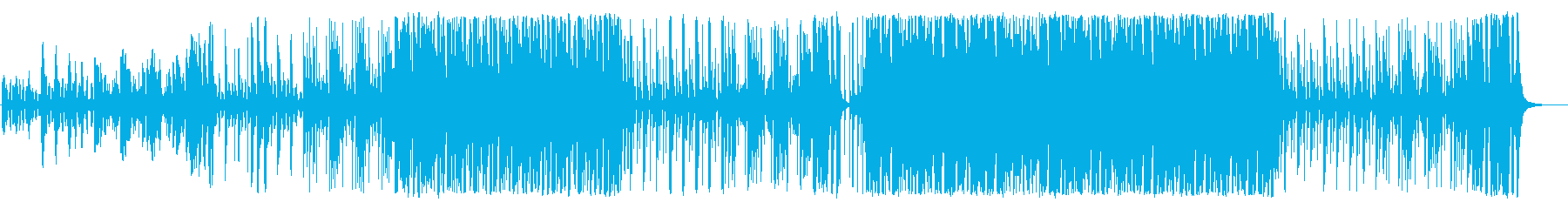 Interesting and entertaining musicians's reproduced waveform