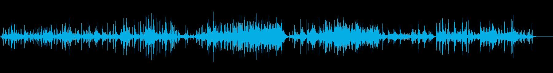 生ピアノソロ・キラキラした空気の再生済みの波形