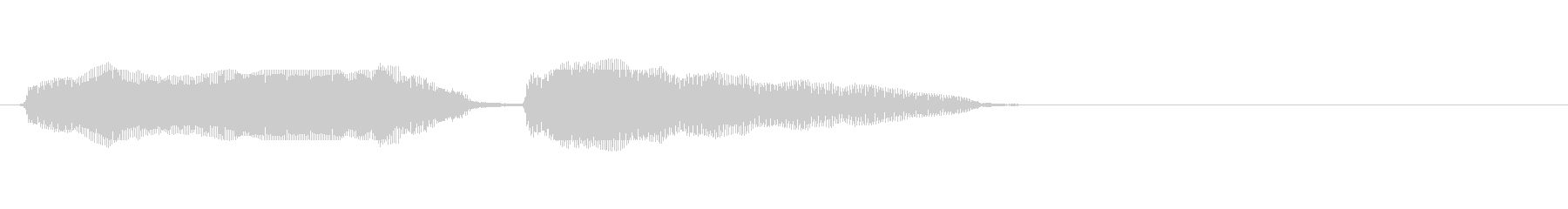 【生録音】シャウティングチキンの音の未再生の波形