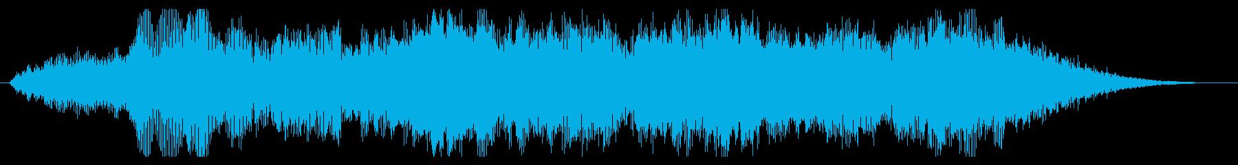 トランジション パッドスイープベント02の再生済みの波形