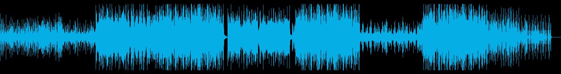 切ない感じの優しい曲の再生済みの波形