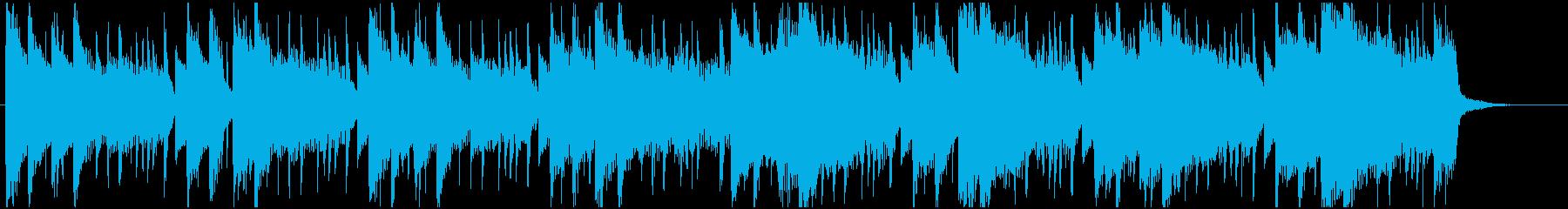 ライトな可愛いドラムンベースジングルの再生済みの波形