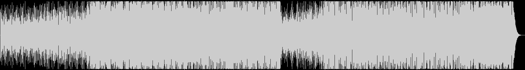 動画CM明るく切ないミドルテンポのEDMの未再生の波形
