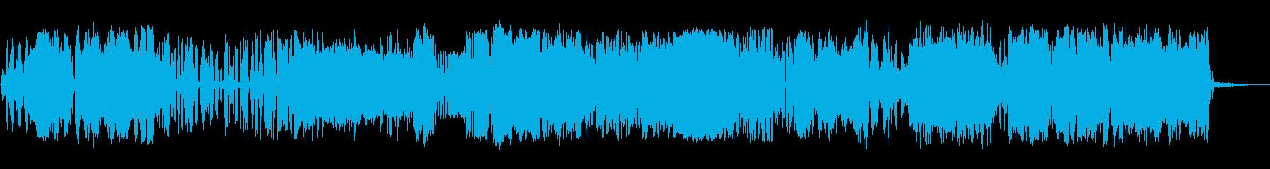 静的メジャーの再生済みの波形