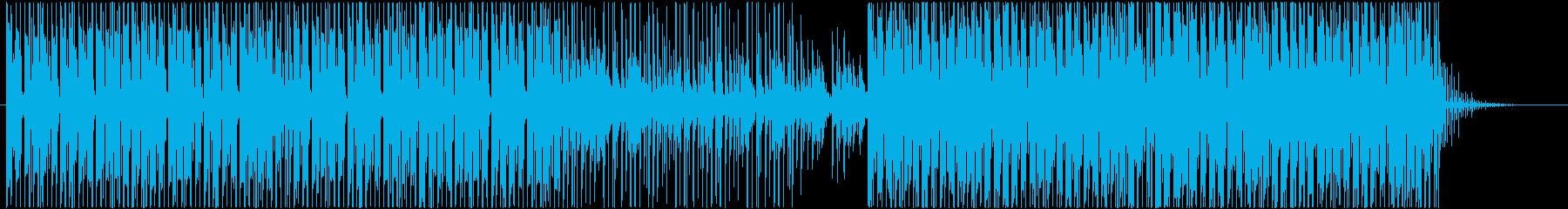 カリンバを使ったアフリカ系クラブサウンドの再生済みの波形