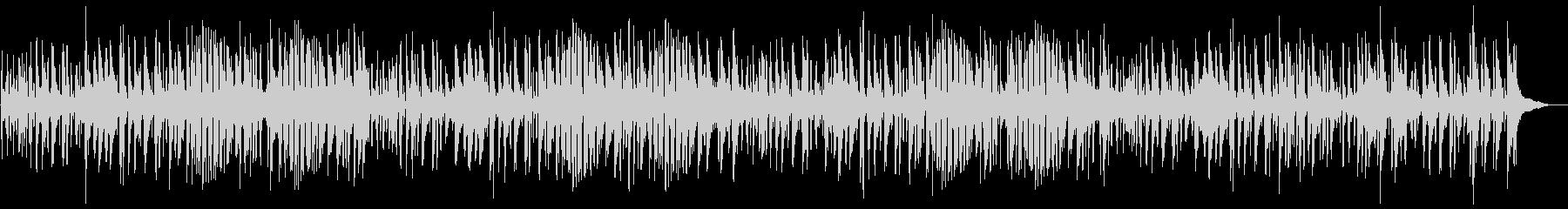 夏おしゃれでかっこいいジャズピアノサンバの未再生の波形