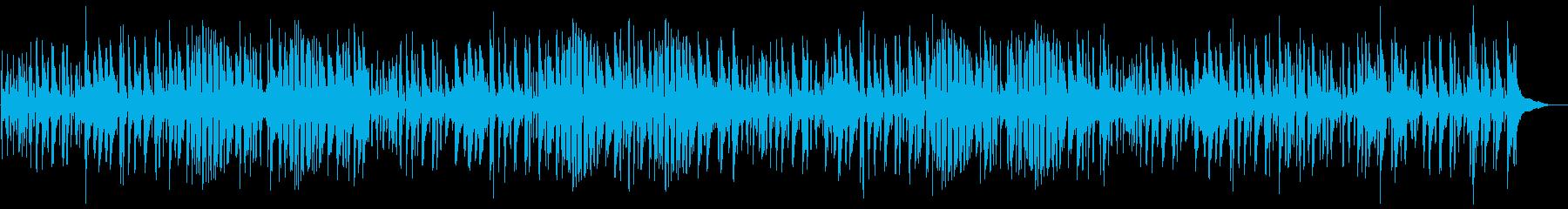 夏おしゃれでかっこいいジャズピアノサンバの再生済みの波形