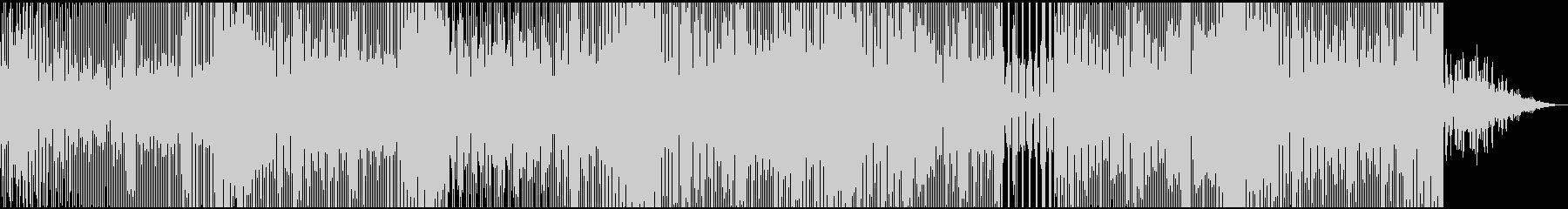 アブストラクトハウスビートの未再生の波形