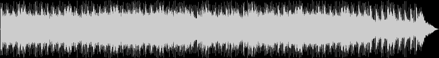 前向きなイメージのキラキラ系BGMの未再生の波形
