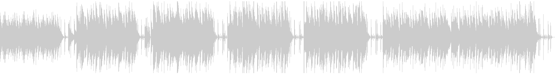 ほのぼの系動物のリポートBGMの未再生の波形