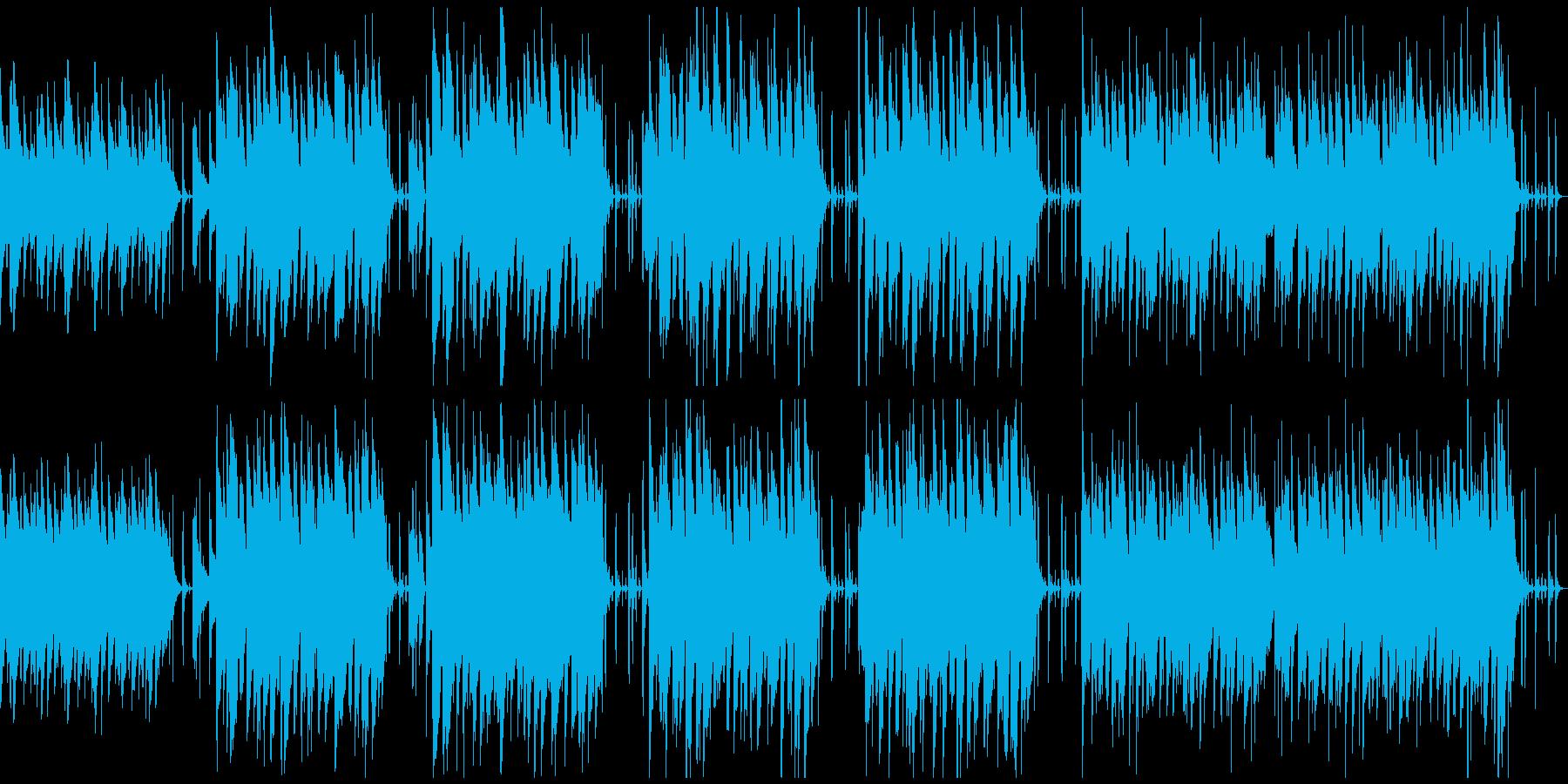 ほのぼの系動物のリポートBGMの再生済みの波形
