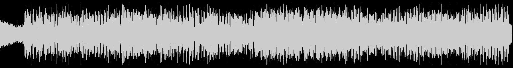 シンセを強調したエレクトロポップサウンドの未再生の波形