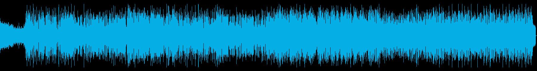 シンセを強調したエレクトロポップサウンドの再生済みの波形