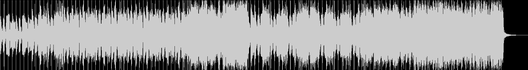 モダンなインディーロックサウンドの未再生の波形