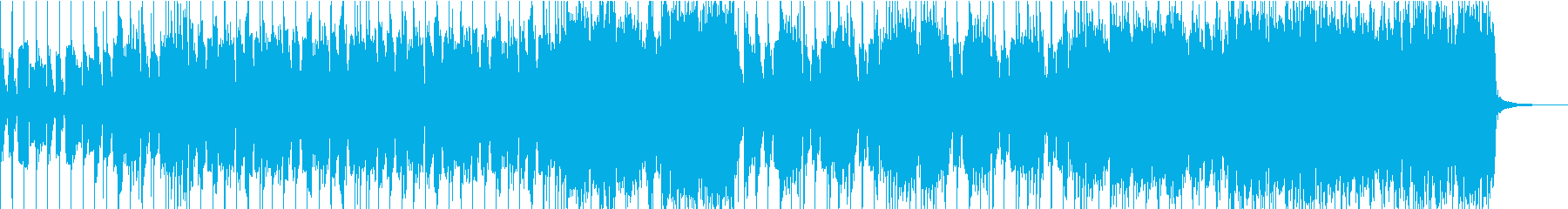 モダンなインディーロックサウンドの再生済みの波形