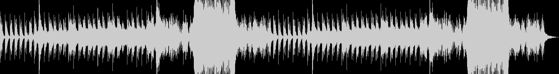 ピアノが印象的なエンドロールソングの未再生の波形