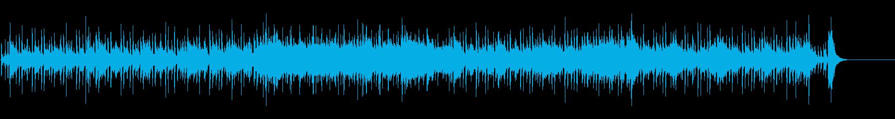 ゴージャスにアレンジされたポップスの再生済みの波形
