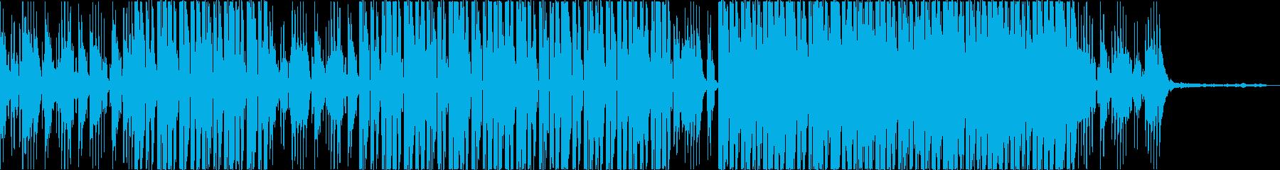 雨の予感の再生済みの波形