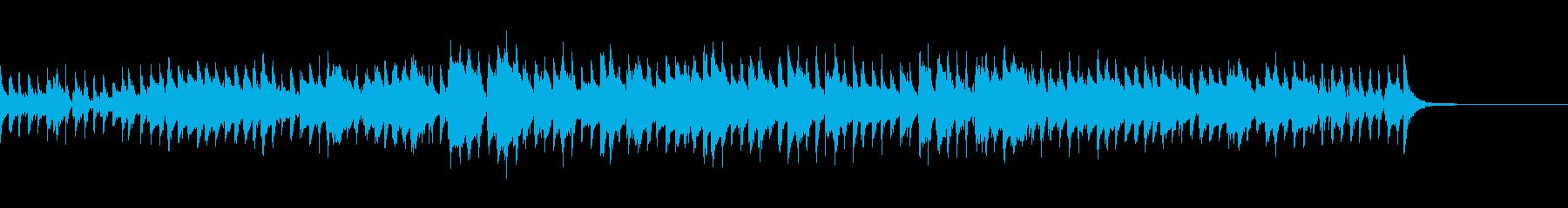 軽快なオールド・ジャズ風のナンバーの再生済みの波形