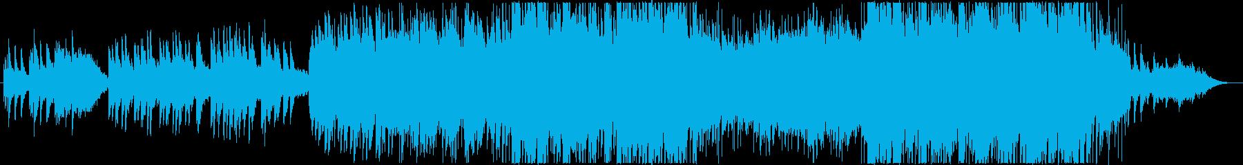 心に残るピアノメロディの感動エンディングの再生済みの波形