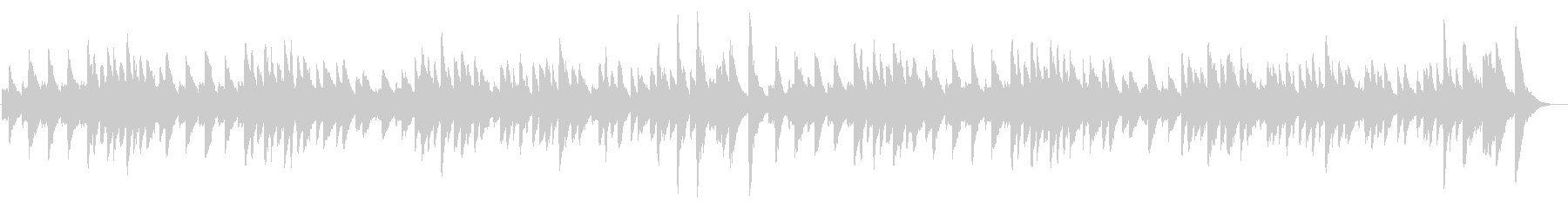 ジムノペティ ピアノソロbpm84の未再生の波形