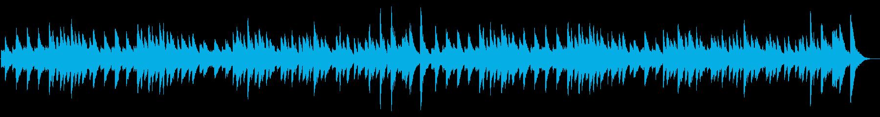ジムノペティ ピアノソロbpm84の再生済みの波形