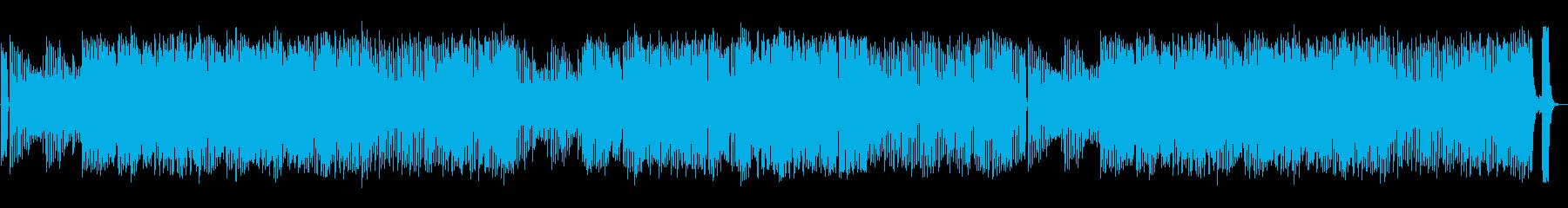 怪しい感じのフュージョンの再生済みの波形