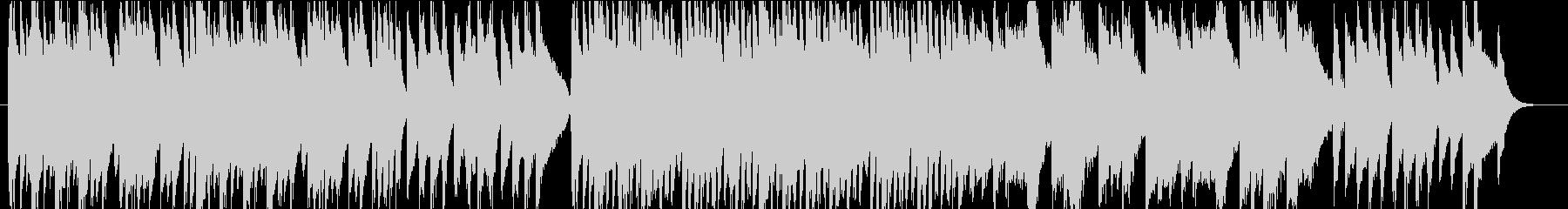 クラシック調のピアノインストの未再生の波形