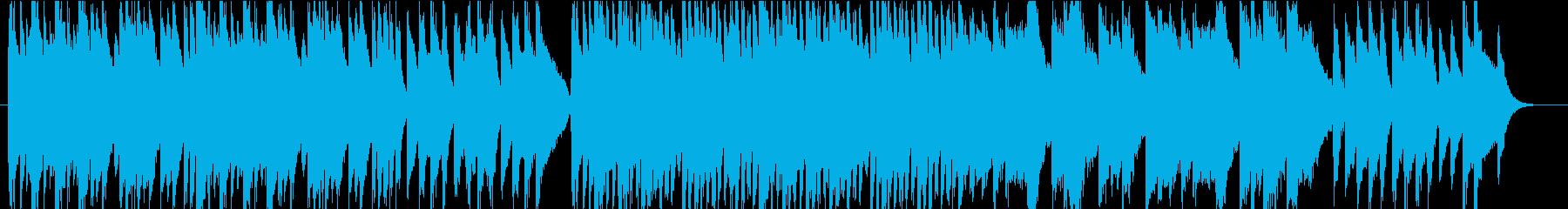 クラシック調のピアノインストの再生済みの波形