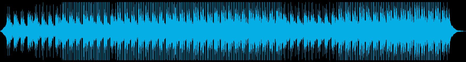 広告バックグラウンドミュージックの再生済みの波形