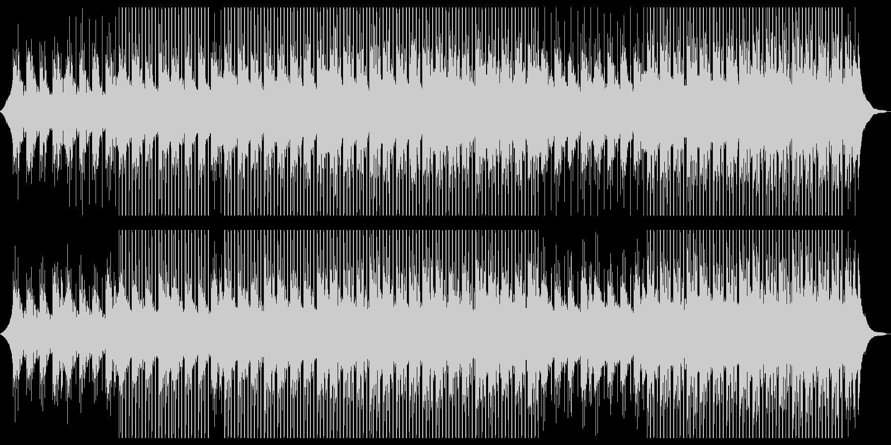 広告バックグラウンドミュージックの未再生の波形