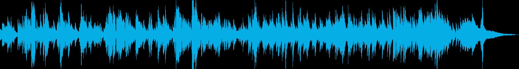 ピアノとトランペットを使用した、エ...の再生済みの波形