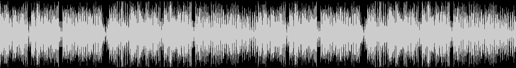 ポップでかわいい、キラキラな曲ループ仕様の未再生の波形