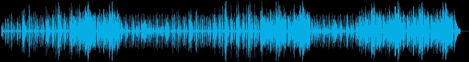 ほのぼのと楽しくなるポップメロディの再生済みの波形