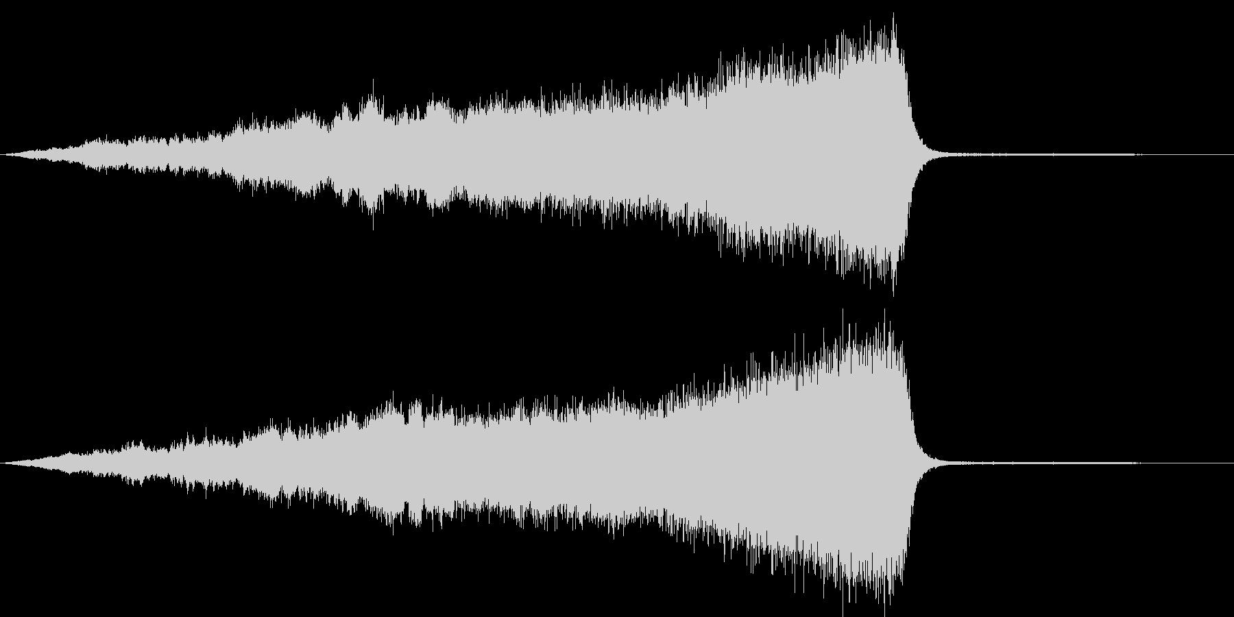 CINEATIC RISER(SF)の未再生の波形