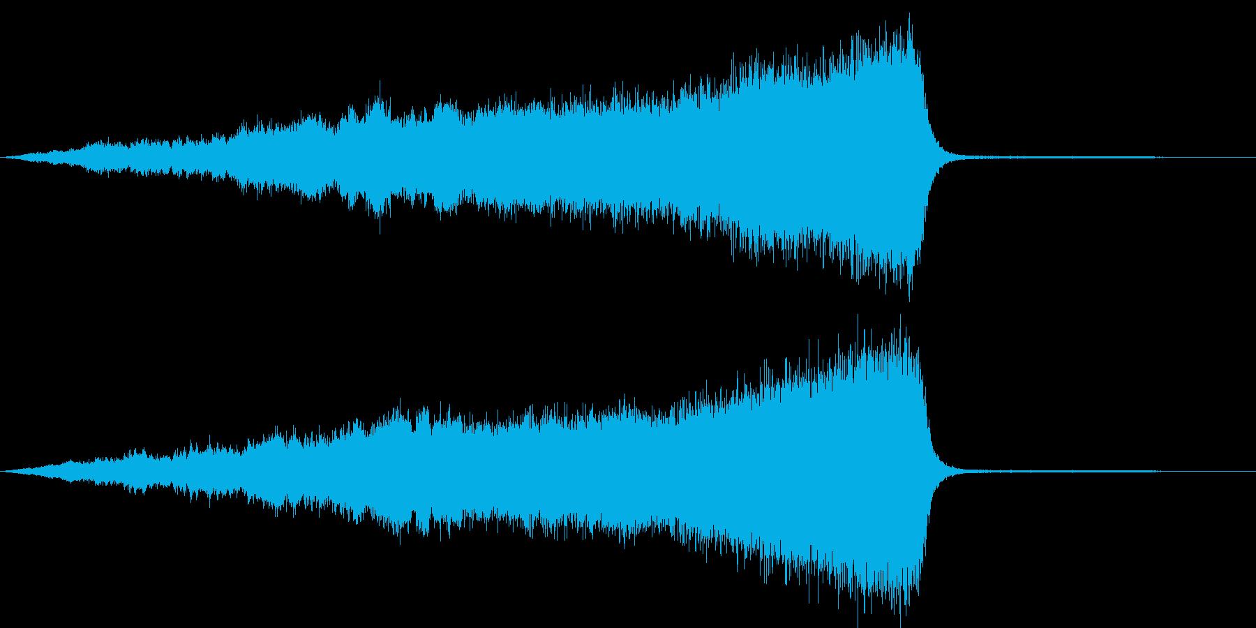 CINEATIC RISER(SF)の再生済みの波形