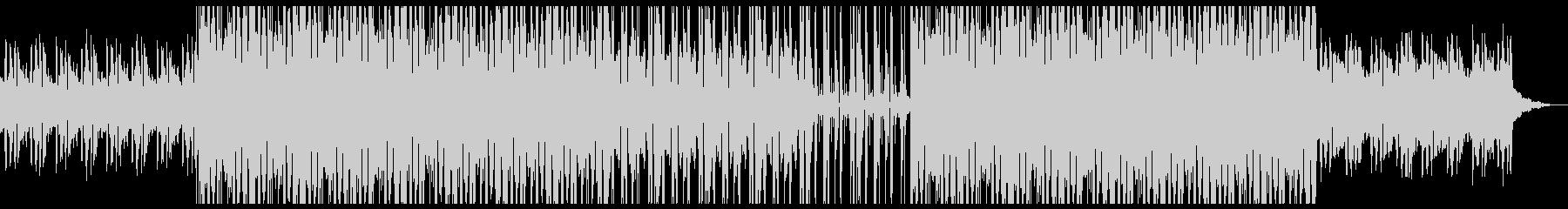ジャジーなピアノとフルートのHIPHOPの未再生の波形