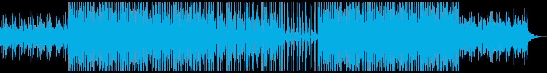 ジャジーなピアノとフルートのHIPHOPの再生済みの波形