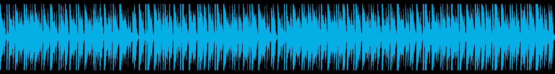 落ち着いたリズムが心地よい曲。の再生済みの波形